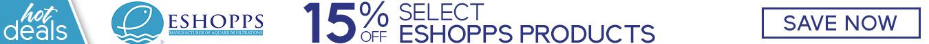 Save 15% on Select Eshopps