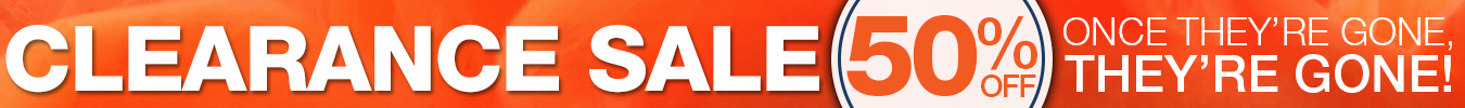 50% off Clearance Super Sale