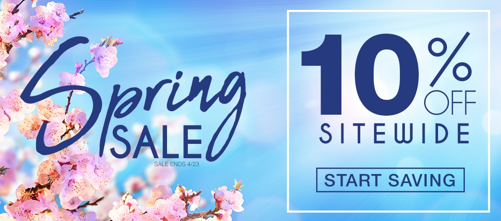 Save 10% off Sitewide Today Only
