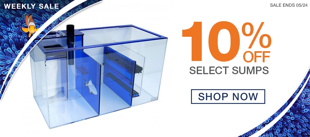 Weekly Sale - 10% off Sumps