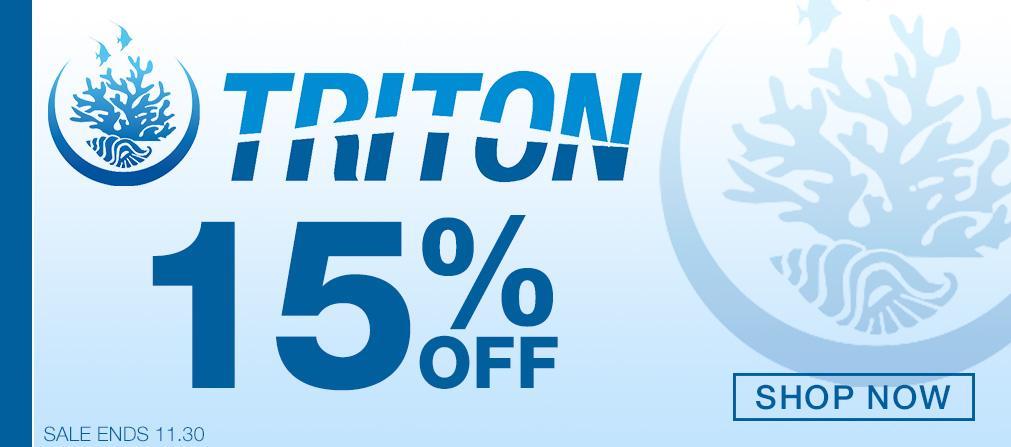 Triton 15% Off Sale