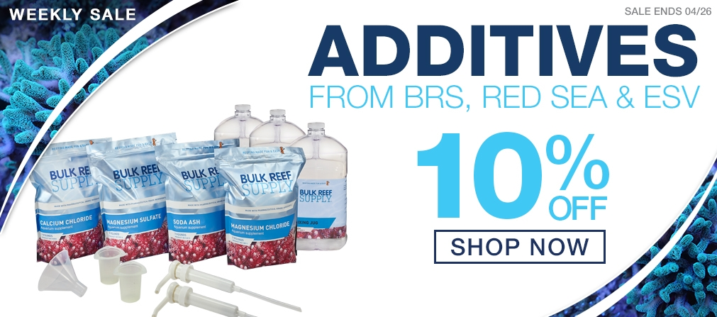 Spring Growth Sale - 10% off Additives