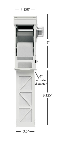 Klir Di-4 Dimensions