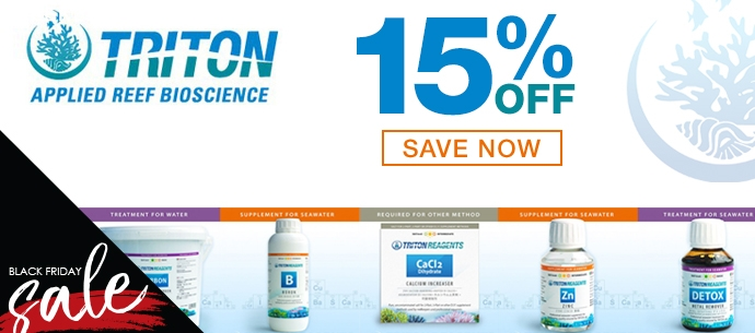 Triton Products 15% off NOW