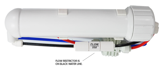 Flow Restrictor on RODI System