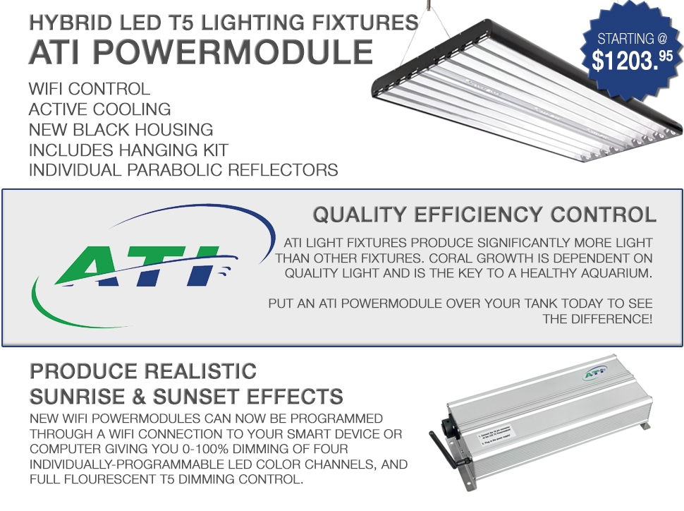 New ATI Powermodule Hybrid Light Fixtures