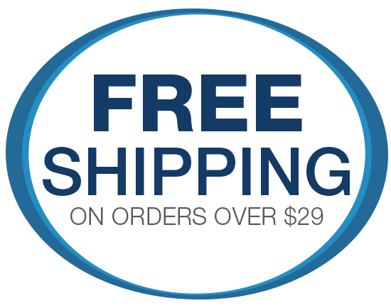 Free Shipping over 29